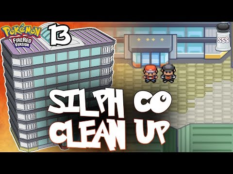 SILPH CO CLEAN UP | Pokemon FireRed NUZLOCKE Let's Play Part 13