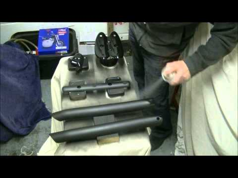Delboy's Garage, Triumph Scrambler  Heat Shields #3