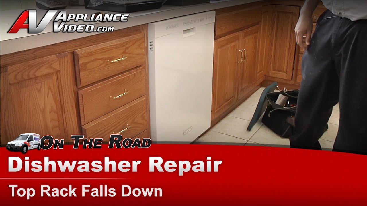 Kitchen Aid Dishwasher Repair Remodeling Kansas City Top Rack Supports And Rollers Whirlpool