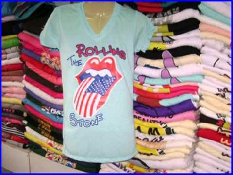ร้านขายเสื้อผ้าราคาถูก เสื้อเปล่าคอวี
