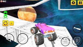 Real Monster Truck Stunts - 4x4 Monster Truck Simulation Games - Android Gameplay