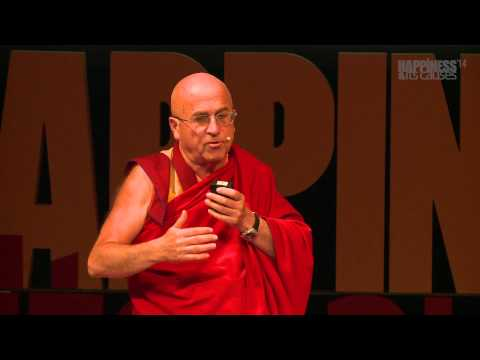 Cultivating altruism - a path to happiness with Matthieu Ricard at Happiness & Its Causes 2014
