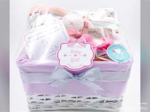 The Making Of A Baby Hamper