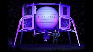 Jeff Bezos Reveals Blue Origin's Moon Mission And Lunar Lander