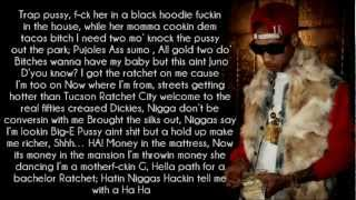 Joe Moses ft. Tyga - I Do It For The Ratchets (Remix) Lyrics HD