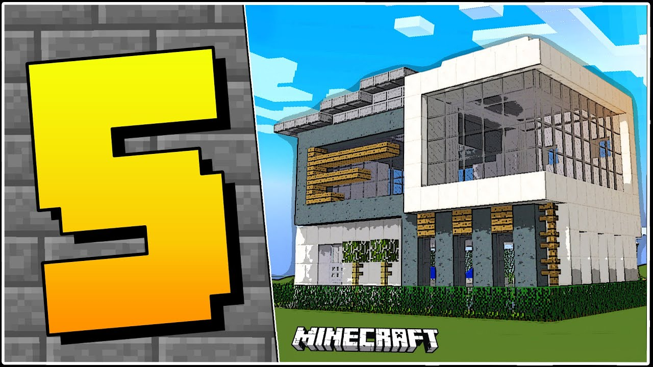 5 types of houses in minecraft youtube for Different kinds of houses