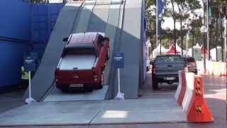 Australian International Motor Show 2012 Sydney - Test drive A Ford Ranger Wildtrax