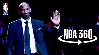 NBA 360 | Kobe Bryant's Jersey Retirement
