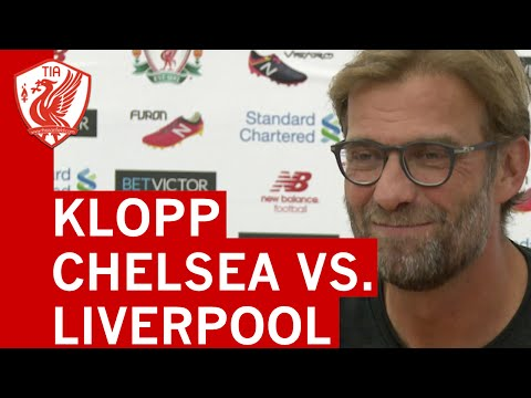 Jurgen Klopp pre-Chelsea vs. Liverpool press conference