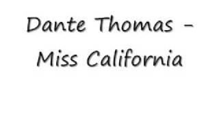Скачать Dante Thomas Miss California