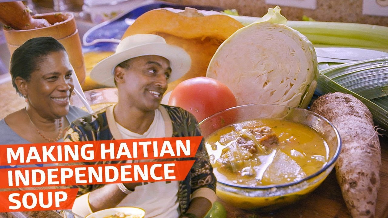 Chef Marcus Samuelsson Learns to Make Haitian Independence Soup — No Passport Required