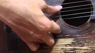 guitar solo-bolero -đời tôi cô đơn- hàn mặc tử