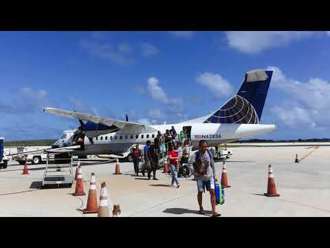 United Express ATR-42 Guam - Rota - Saipan