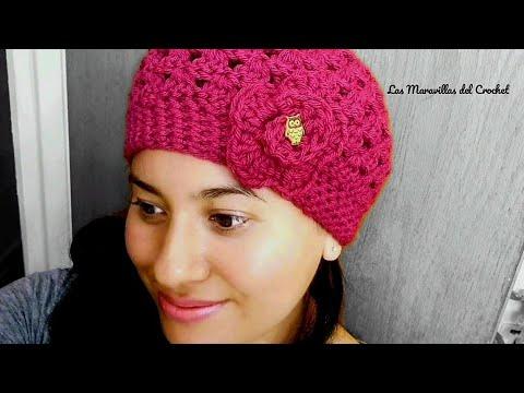 4a7cb8d5a610f 👩Gorro Facil a Crochet(ganchillo) Para Niña Y Mujer👧 - YouTube