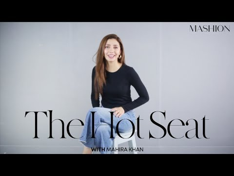 The Hot Seat With Mahira Khan   Question & Answer   Mashion