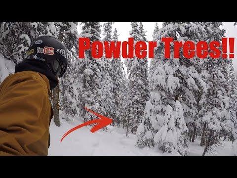 Powder Tree Run - Keystone Colorado- (Top To Bottom)