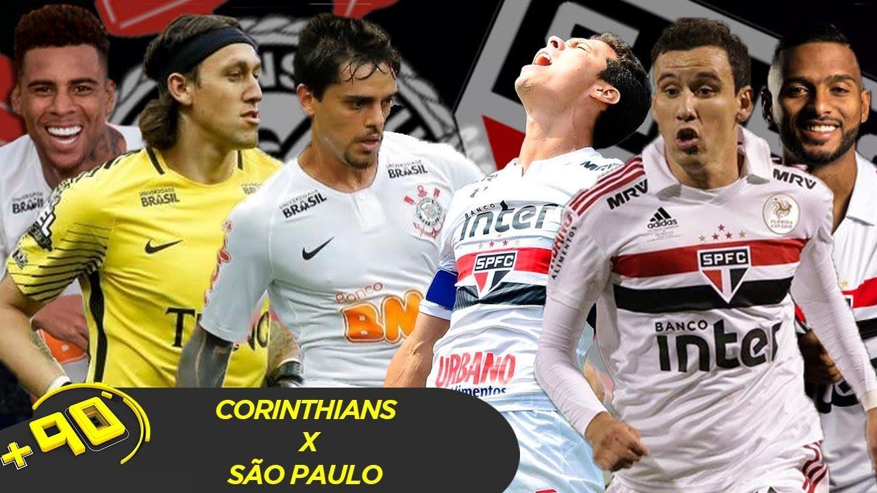 CORINTHIANS X SÃO PAULO: QUAL O MELHOR TIME? - MANO A MANO