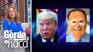 Comparan maquillaje de El Gordo con el de Donald Trump y Lili apoya la idea   GYF