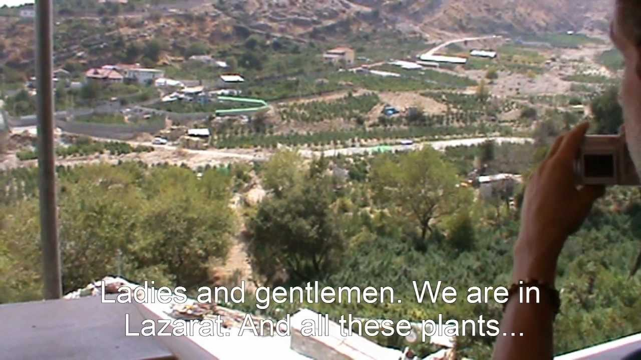 The Albanian Moped Trip News Flash Lazarat Albania - YouTube