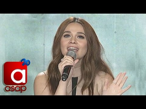 Bea Alonzo accepts ASAP Karaokey Challenge
