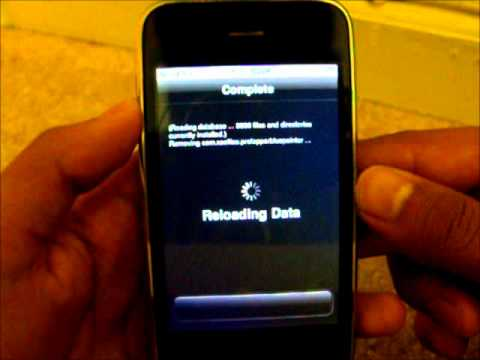 how to get out of safe mode - jailbroken iphone/ipod touch