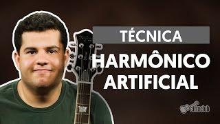Técnicas de Guitarra -  Harmônico Artificial