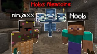 Minecraft mais quand on Casse un Bloc un Mobs spawn.. (dur)