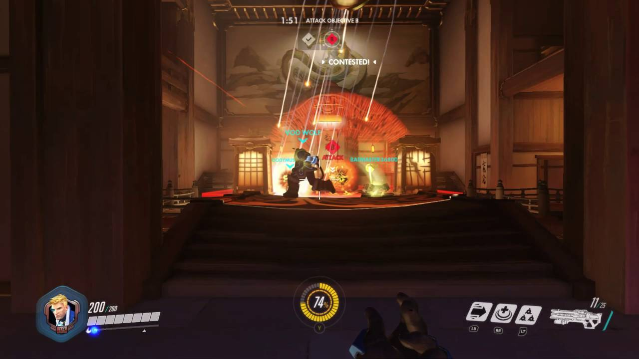 Lag in Overwatch | Xbox One Overwatch