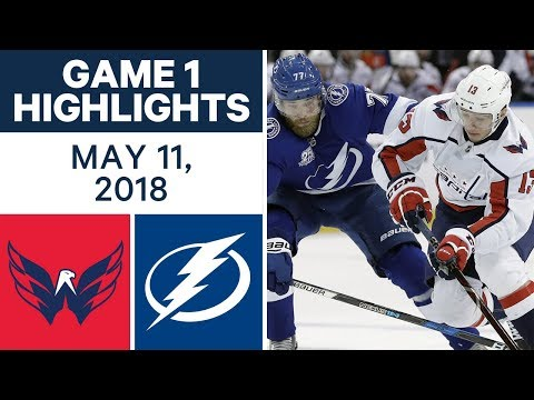 NHL Highlights | Capitals vs. Lightning, Game 1 - May 11, 2018