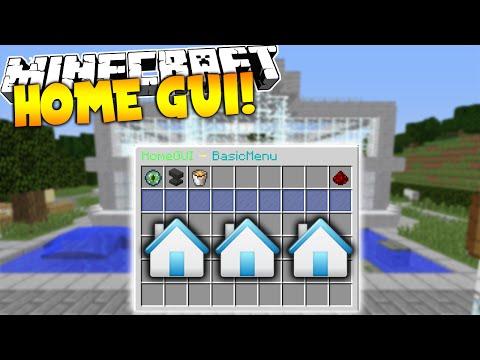 Minecraft: HomeGUI (Plugin Tutorial)