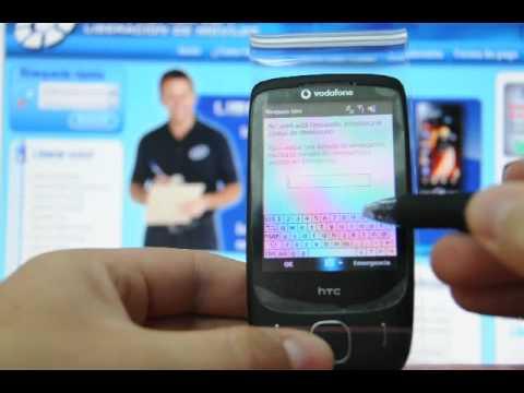 Como liberar HTC Touch 3G por código en www.movical.net