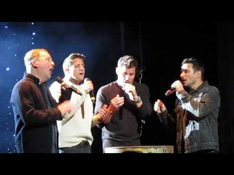 """98 Degrees """"I'll Be Home For Christmas"""" Minneapolis, MN 11-9-2017"""