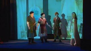 Международный день театра. В Полесском драматическом премьера «Сказки о мёртвой царевне»