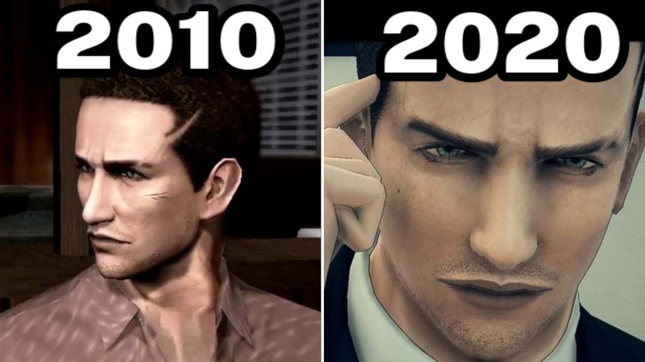 Graphical Evolution of Deadly Premonition (2010-2020)