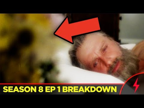 Walking Dead Season 8 Premiere BREAKDOWN - Old Rick Explained! (8x01)