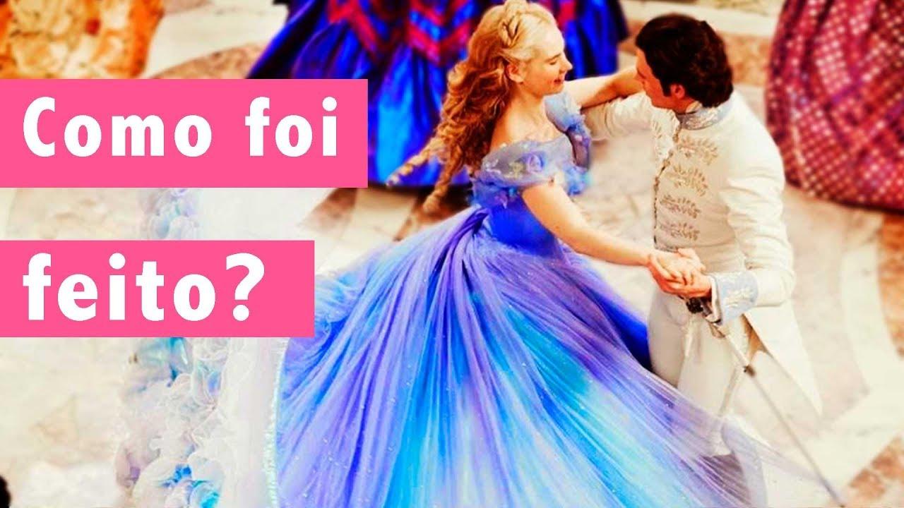 cinderela vestido baile youtube