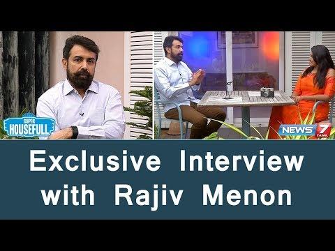 Exclusive Interview with Rajiv Menon | Sarvam Thala Mayam | GV Prakash | AR Rahman