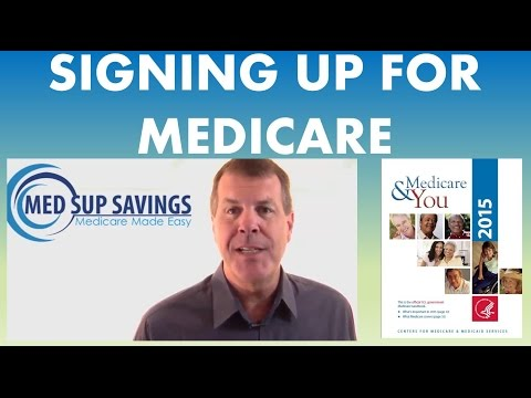 How To Sign Up For Medicare Part And Medicare Part