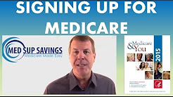 How to Sign Up for Medicare Part A and Medicare Part B