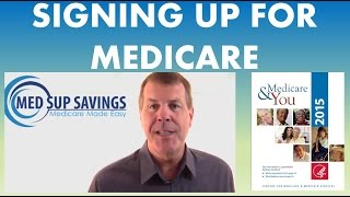 How Sign Medicare Part And Medicare Part