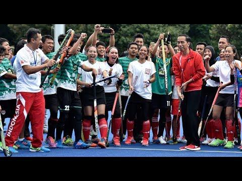 Jokowi Opens New 2018 Asian Games Venues In Jakarta