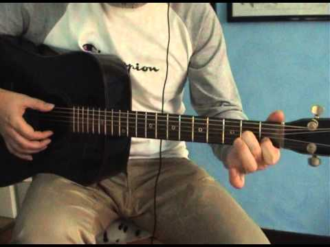 """""""face of light""""_rival sons_guitar lesson (double drop c # tuning)"""