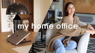 HOME OFFICE TOUR | Julia Barretto