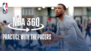 NBA 360 | Practice with the Pacers