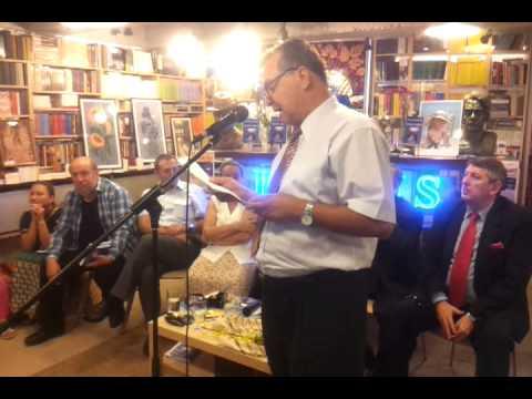 Libraria St O Iosif Brasov 2013- lansare Poarta lirica- vorbeste Viorel Martin