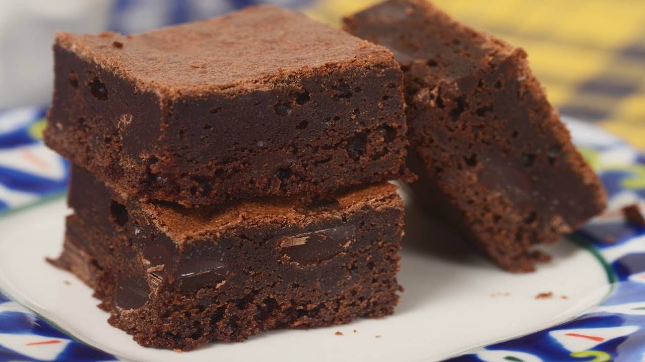 receta de brownie de chocolate light