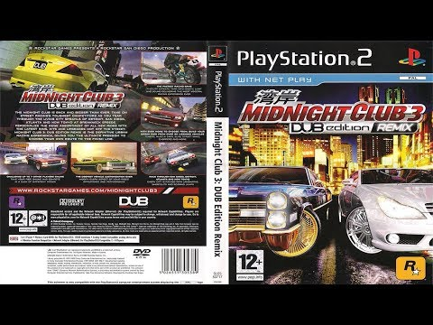 Midnight Club 3: DUB Edition Remix - Rockstar Logos (Location Guide)