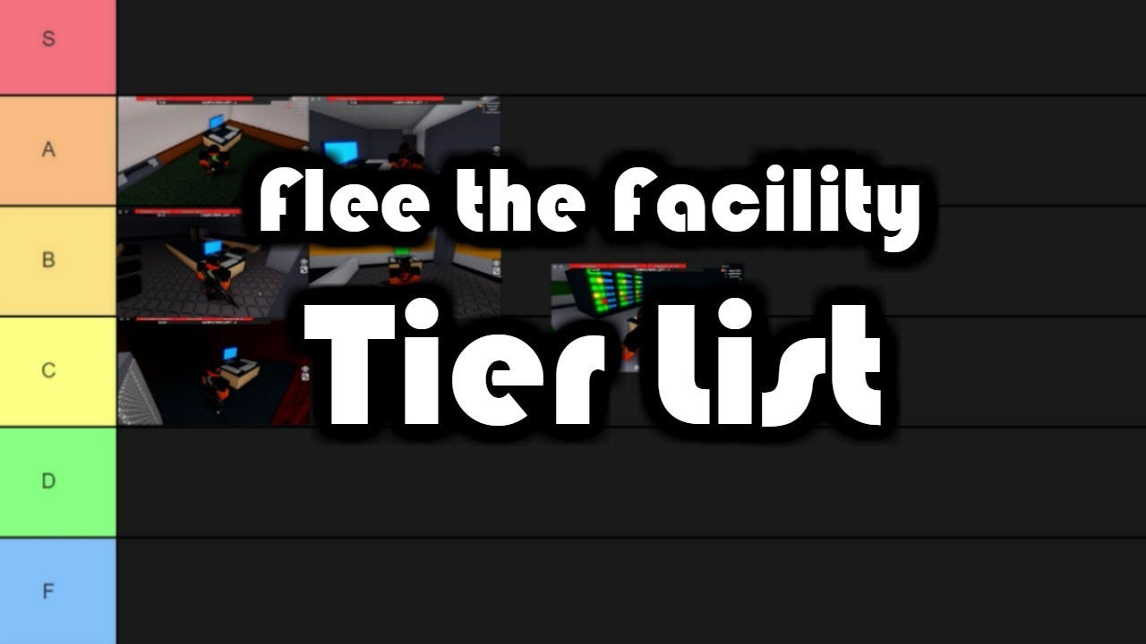 """Flee the Facility Computers, Capsules, & Exits TIER LIST: """"Facility_0"""" Part 1 (Roblox)"""