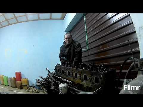Снимаю головку с ЯМЗ 650