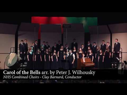 """Carol of the Bells"" arr. Peter J. Wilhousky - Nixa High School Combined Choirs"